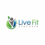 Live Fit Stay Safe Logo - Entry #96
