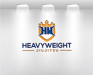 Heavyweight Jiujitsu Logo - Entry #116