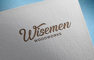 Wisemen Woodworks Logo - Entry #214