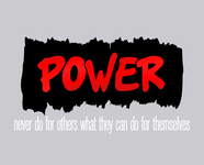 POWER Logo - Entry #173