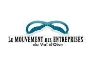 Le Mouvement des Entreprises du Val d'Oise Logo - Entry #12