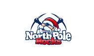 North Pole Rocks Logo - Entry #12