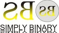 Simply Binary Logo - Entry #23