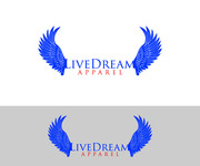 LiveDream Apparel Logo - Entry #256