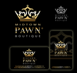 Either Midtown Pawn Boutique or just Pawn Boutique Logo - Entry #41
