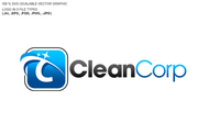 B2B Cleaning Janitorial services Logo - Entry #49