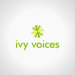 Logo for Ivy Voices - Entry #175