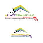 uHate2Paint LLC Logo - Entry #127