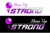 SHOW UP STRONG  Logo - Entry #96