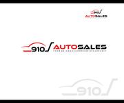 910 Auto Sales Logo - Entry #100