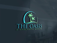 The Oasis @ Marcantel Manor Logo - Entry #100