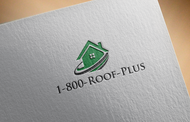 1-800-Roof-Plus Logo - Entry #91