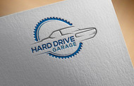 Hard drive garage Logo - Entry #370