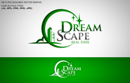DreamScape Real Estate Logo - Entry #124