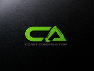 CA Coast Construction Logo - Entry #92