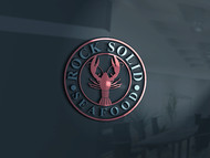 Rock Solid Seafood Logo - Entry #52