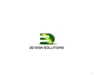 3D Sign Solutions Logo - Entry #152
