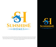 Sunshine Homes Logo - Entry #325