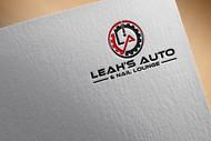 Leah's auto & nail lounge Logo - Entry #123