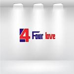 Four love Logo - Entry #228