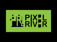 Pixel River Logo - Online Marketing Agency - Entry #173