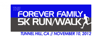The Forever Family 5K Logo - Entry #37
