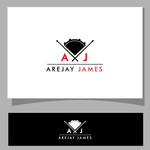 arejay james Logo - Entry #29