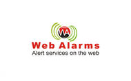 Logo for WebAlarms - Alert services on the web - Entry #88