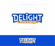 DELIGHT Pizza & Wings  Logo - Entry #74