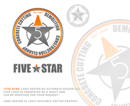 Five Star Logo - Entry #61