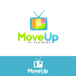 Move Up TV Training  Logo - Entry #99