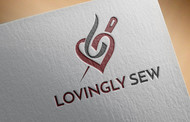 Lovingly Sew Logo - Entry #38