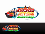 Chicago Jet Ski Adventures Logo - Entry #40