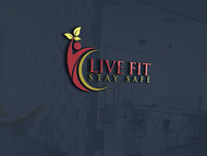 Live Fit Stay Safe Logo - Entry #262