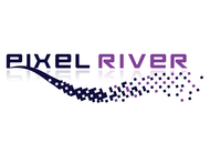 Pixel River Logo - Online Marketing Agency - Entry #13