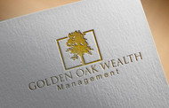Golden Oak Wealth Management Logo - Entry #125