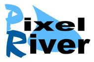 Pixel River Logo - Online Marketing Agency - Entry #208