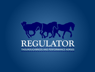 Regulator Thouroughbreds and Performance Horses  Logo - Entry #7