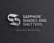 Sapphire Shades and Shutters Logo - Entry #101