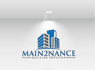MAIN2NANCE BUILDING SERVICES Logo - Entry #81