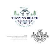 Tuzzins Beach Logo - Entry #278