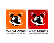 Logo for WebAlarms - Alert services on the web - Entry #44