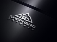 Shepherd Drywall Logo - Entry #244