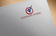 LiveDream Apparel Logo - Entry #296
