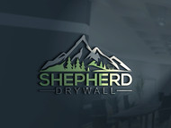 Shepherd Drywall Logo - Entry #115