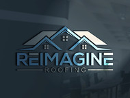 Reimagine Roofing Logo - Entry #127