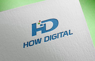 How Digital Logo - Entry #14