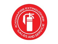 Acadiana Fire Extinguisher Sales and Service Logo - Entry #300