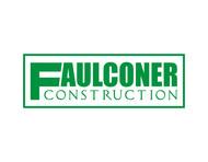 Faulconer or Faulconer Construction Logo - Entry #308