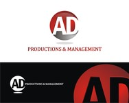 Corporate Logo Design 'AD Productions & Management' - Entry #40
